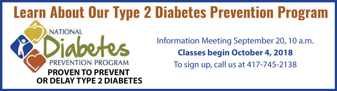diabetes classes notice
