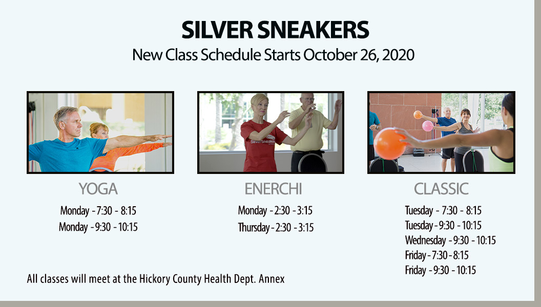 silver sneakers classes